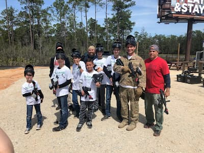 private group for Destin paintball play